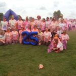 Lincolnshire Physiotherapy Sports Injuries Clinic team take part in colour dash