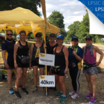 Emma speers and team take part in the great strides challenge